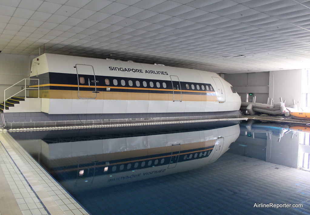 Water Safety Pool at Singapore Airlines