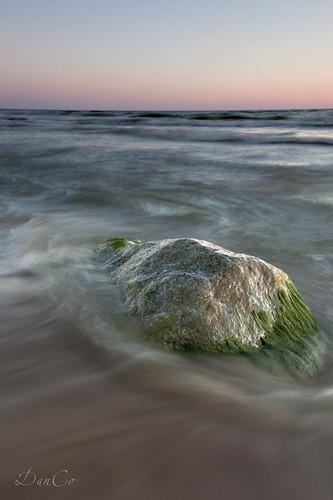sunset sea stone baltic lithuania lietuva sigma1020mmf456exdchsm karkle canoneos50d mygearandme blinkagain bestofblinkwinners cokinp121mfilter