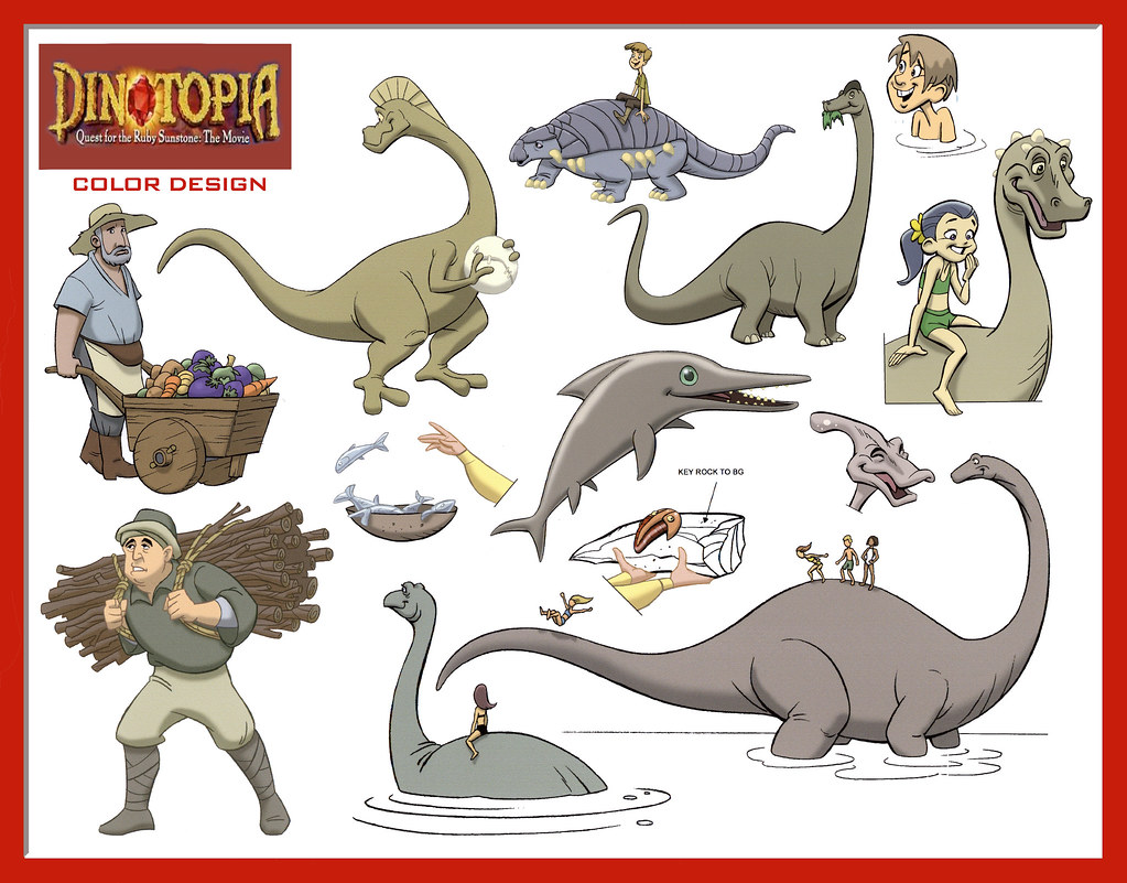 dinotopia coloring pages - photo#18
