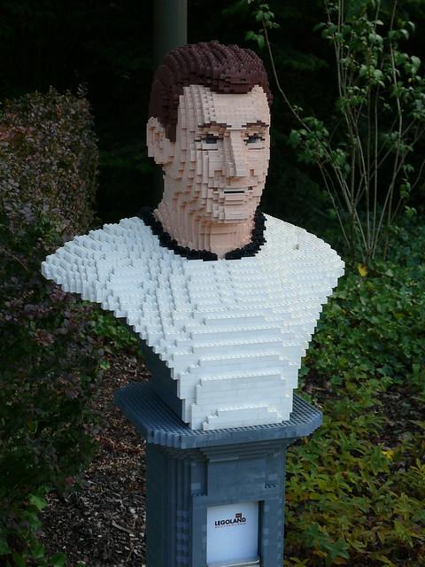 LEGO-Büste: Fritz Walter