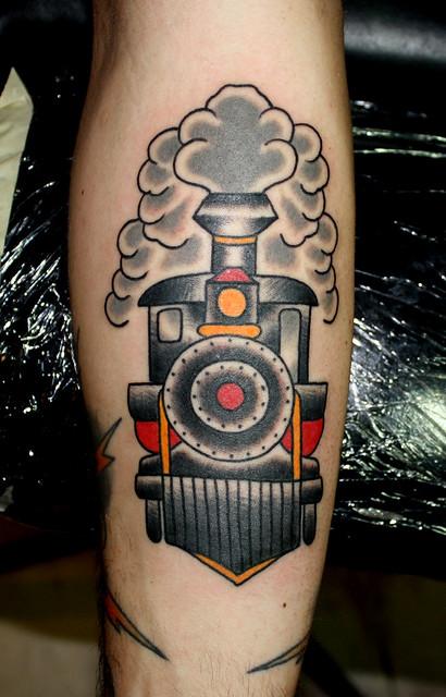 Train Tattoo Myke Chambers