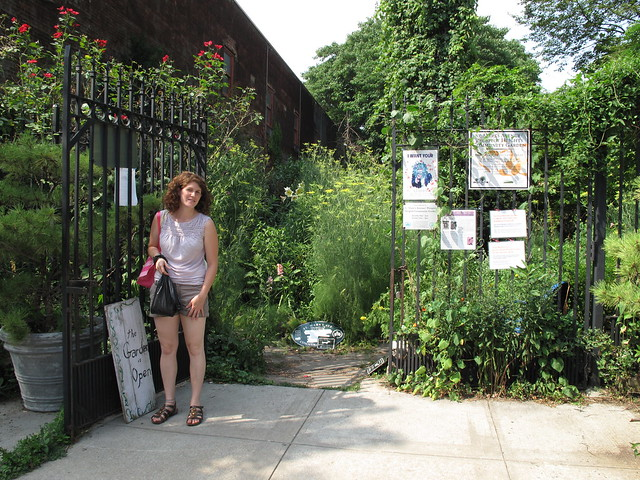 Greenest Block in Brooklyn 2011 finalist at St. Marks Avenue between Vanderbilt Avenue and Carlton Avenue.