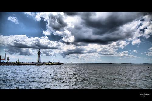 blue light cloud lighthouse architecture clouds harbor buffalo nelson jerome midday cloudscape shalu 1755 chinamans 175528 chinamanslight jeromenelson samphraim jeromenelsonstudio