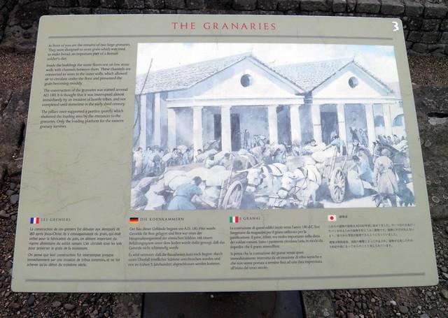 The Granaries (panel), Coria (Corbridge Roman Town)