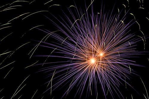 Fireworks @ Swiss National Day