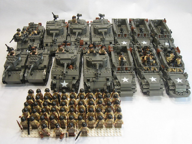 LEGO WW2 American Soldier
