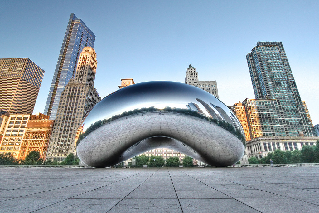 Image result for the bean chicago