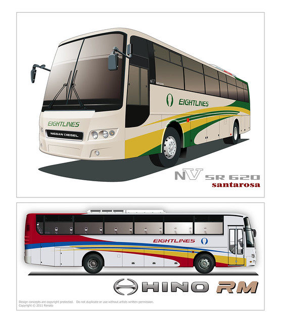 bus paint schemes