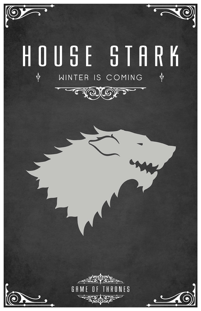 Game Of Thrones - Casas mayores y menores