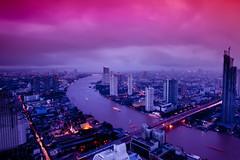Last night in Bangkok...