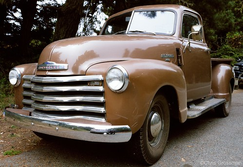 1949 Chevy Pick-Up Truck  - GSW690II - Provia 400x