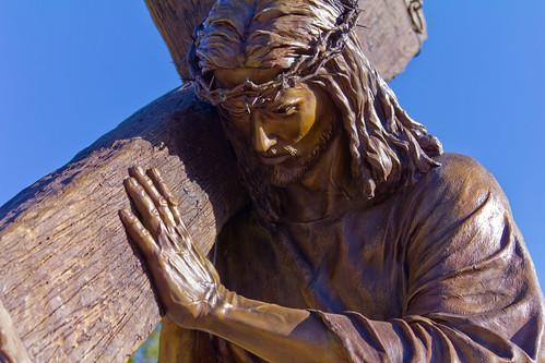 park sculpture usa art monument statue bronze garden utah ut christ cross jesus christian collection thorns lds lightoftheworld lehi newtestament 2011 thanksgivingpoint angelajohnson