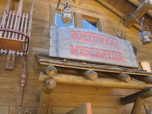 Merchentile Sign
