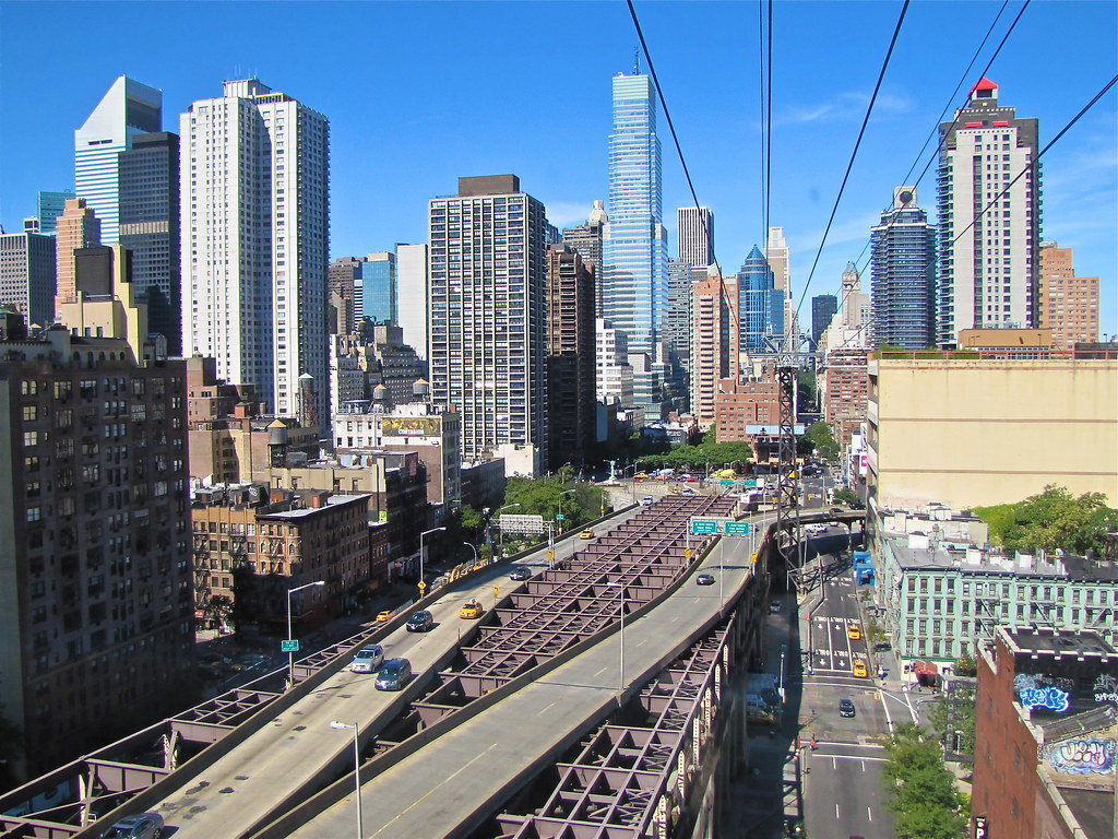 Vista do Tramway Roosevelt Island