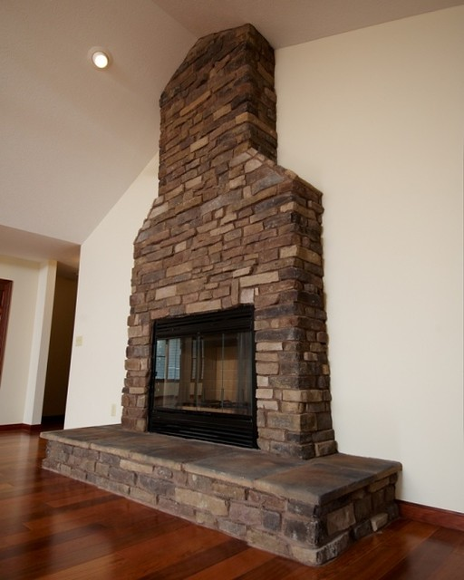 faced fireplace flickr photo