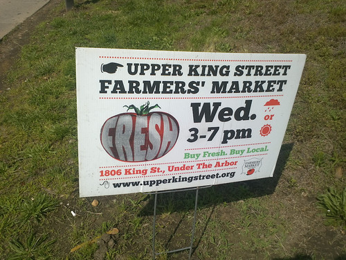 Upper King Street Fresh Farmers Market - Wednesday's Now Thru October!