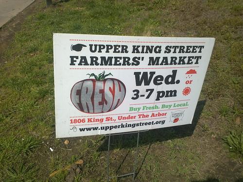 Upper King Street Fresh Farmers Market - Wednesday's Now Thru October!
