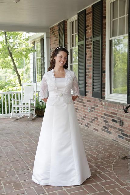 Lucy Wedding Dress Longview Photo Shoot