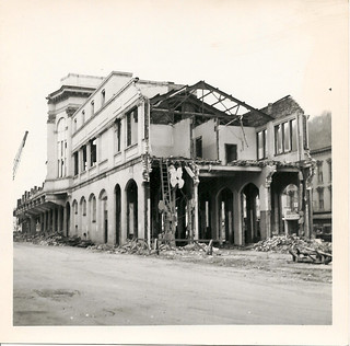 Market Auditorium demolition - 1964. Wheeling, W.Va.