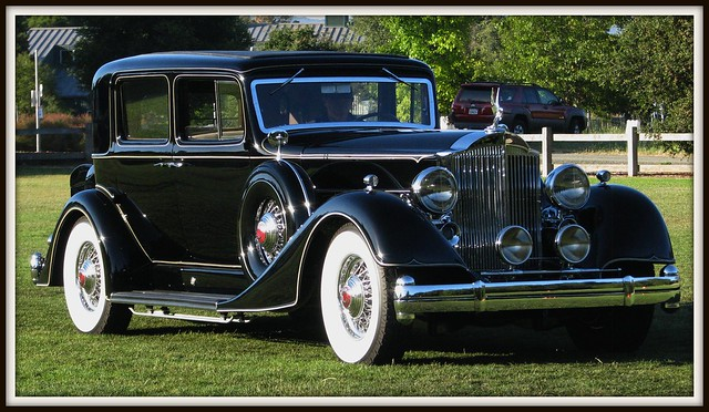 1934 Packard 12 Club Sedan 04 Flickr Photo Sharing