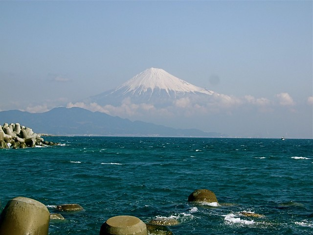Mt Fuji from Miho Beach, Shizuoka