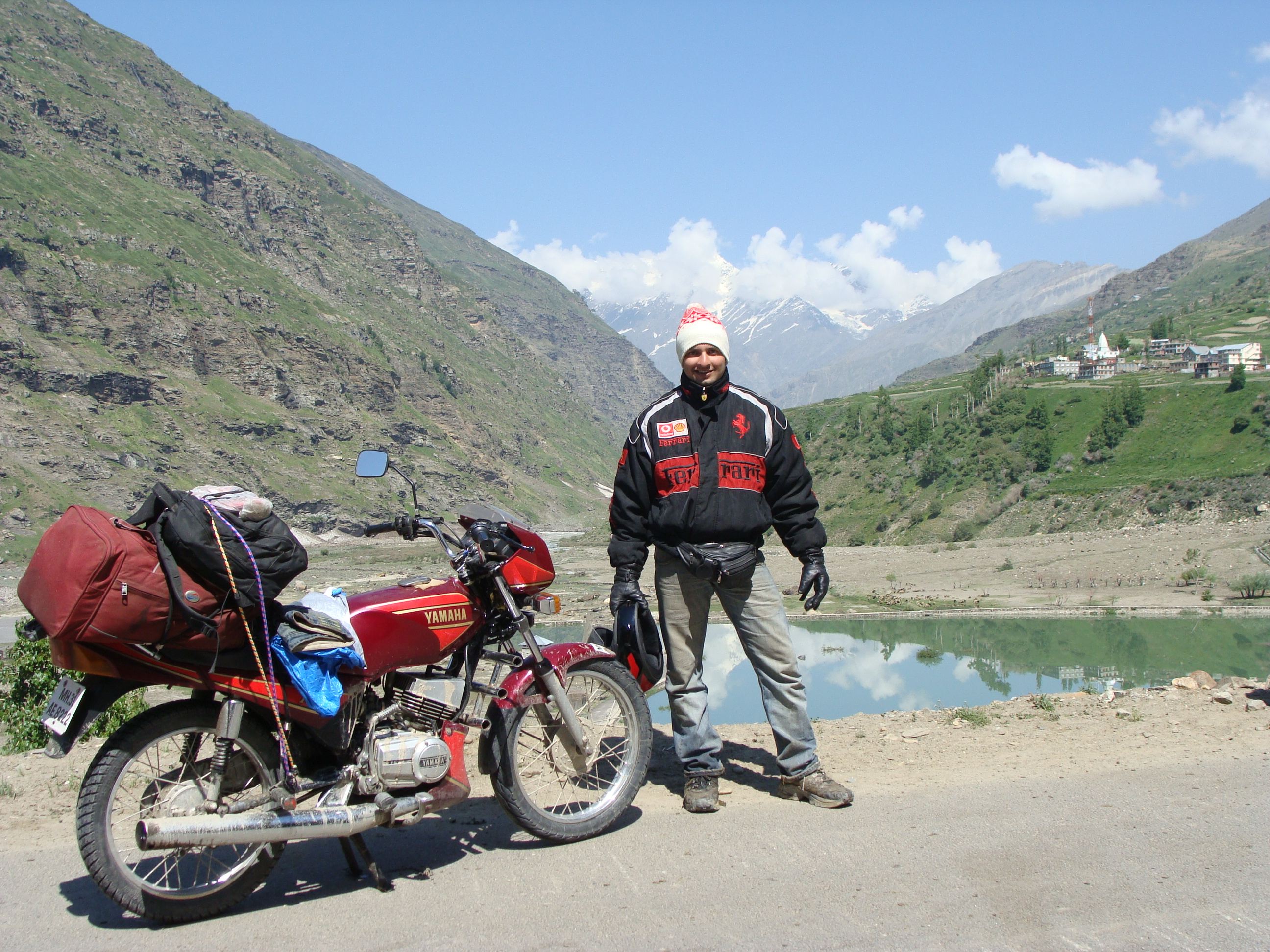 when i took life for a ride     Biking 5800kms Pune Leh Ladakh