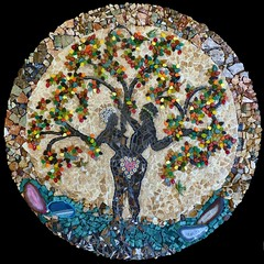 "Mosaic Tree of Life ""In the Beginning"""