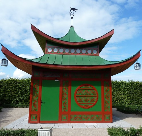 red green architecture asian oriental lithuania rundelepalaceandpark