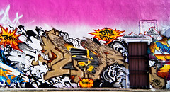 GRAFFALOT Houston Graffiti - Coler - RTD- DTS - STK