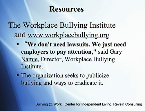Resource1 - Bullying in the Workplace