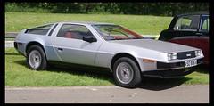 race car, automobile, vehicle, delorean dmc-12, land vehicle, coupã©, sports car,