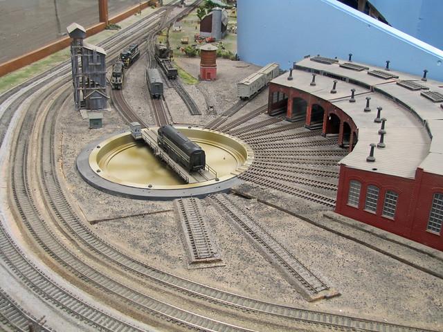 Model railroad turntable wiring kit