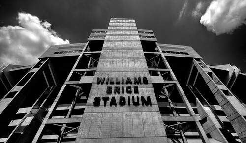Williams-Brice Stadium (B&W)