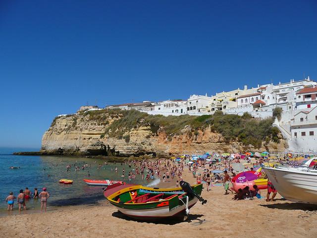 Playa  Carvoeiro , Algarve - Portugal