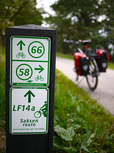 Dutch bicycle markers