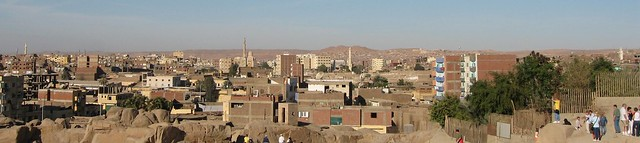 Aswan, seen from the unfinished obelisk