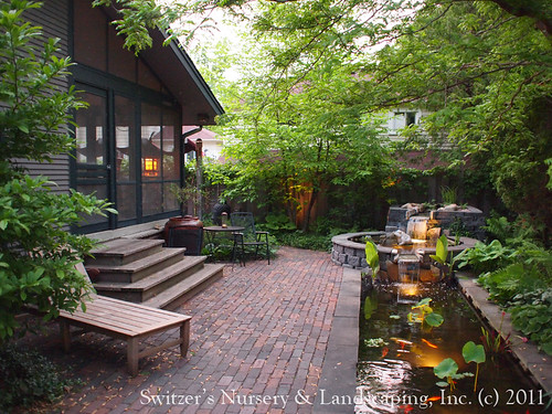 Award Winning Minnesota Landscape Design insired by Bali