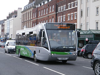 Weymouth Park And Ride_Optare Versa_YJ60 KFX