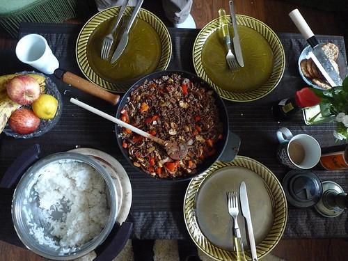 Hamburg Beef curry