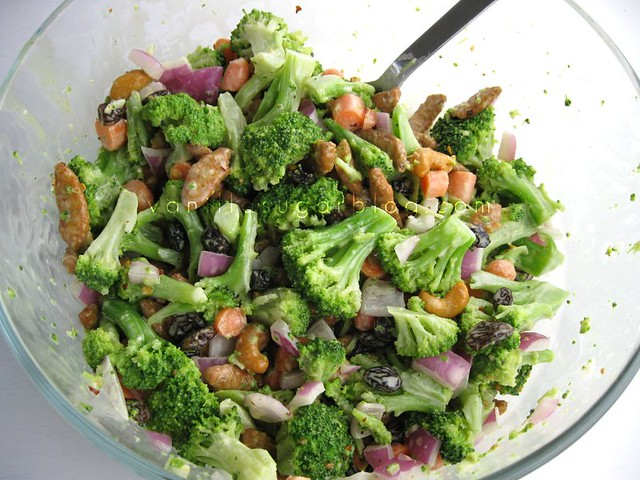 extra crunchy broccoli salad