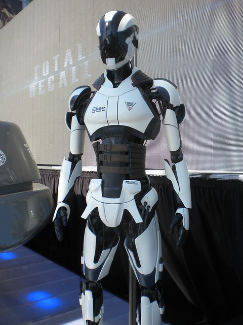 "A shot of the "" Police Robot"" (?) from the upcoming Total ..."