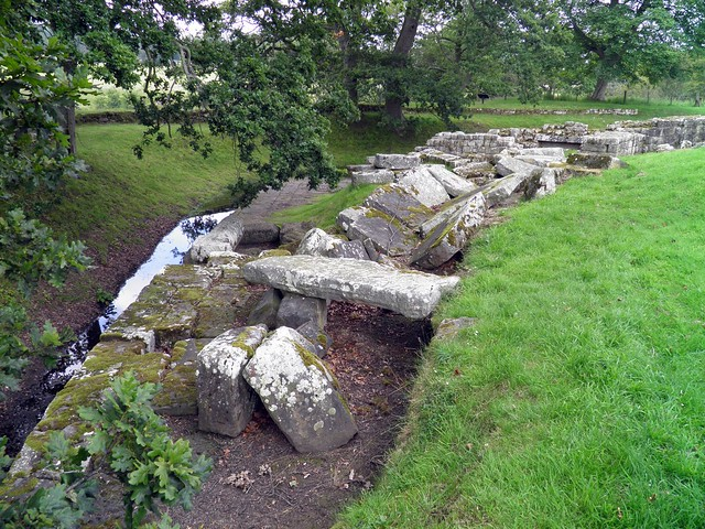 Chesters Roman Bridge