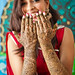 Bride with Henna on Hands | Amir & Nasrine's Wedding Day 1 | Lilburn Mehndi Party | Atlanta Indian Wedding Photographer