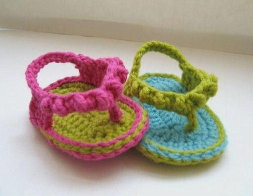 CROCHET FLIP FLOPS Crochet For Beginners