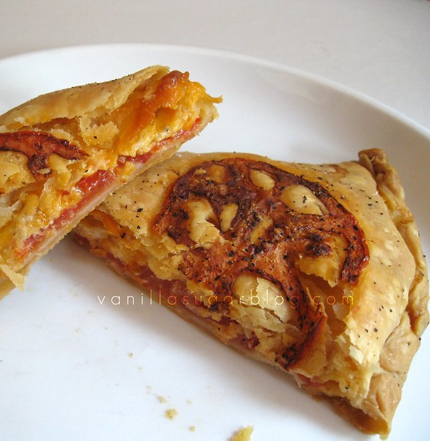 tomato & cheese hand pies