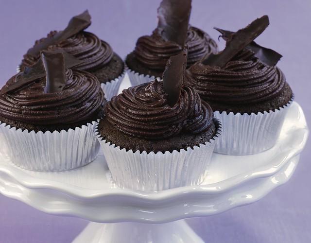 Dark Chocolate Cupcakes Recipe | Flickr - Photo Sharing!
