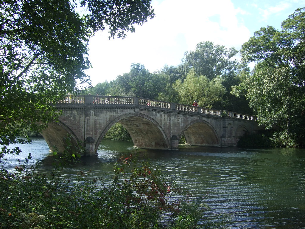 Bridge over Clumber Lake