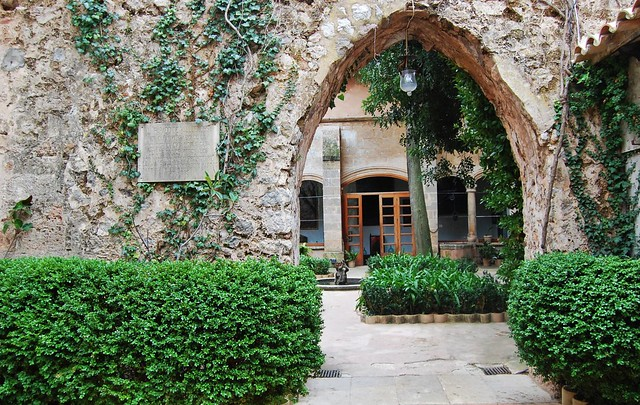 Jardins del palau del rei sancho can mirab valldemosa - Jardins del palau ...