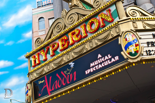 Hyperion Theater, Aladdin Marquee
