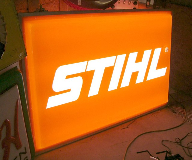 Stihl DS Lighted Sign | Flickr - Photo Sharing!